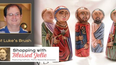 St. Luke's Brush – Shopping with Blessed Zelie