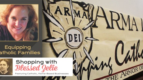 Arma Dei:  Equipping Catholic Families – Shopping with Blessed Zelie