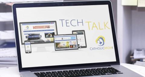 Tech Talk Reviews Saintnook: 'Facebook for the Saints!' | CatholicMom.com