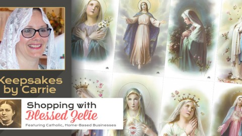 Meet: Keepsakes by Carrie – Shopping with Blessed Zelie
